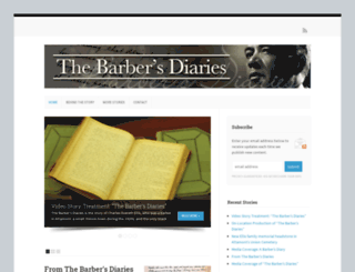 thebarbersdiaries.com screenshot