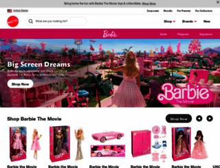 thebarbiecollection.com screenshot