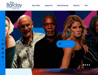 thebarclay.org screenshot