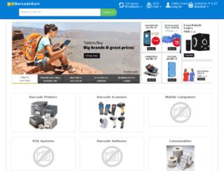 thebarcodestore.in screenshot
