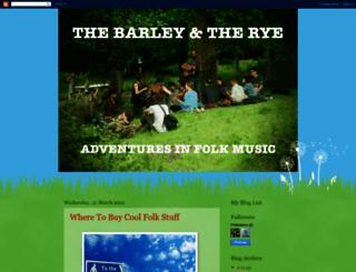 thebarleytherye.blogspot.de screenshot