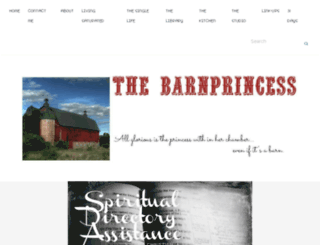 thebarnprincess.com screenshot