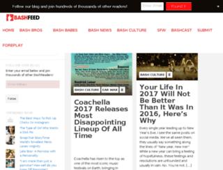 thebashfeed.com screenshot