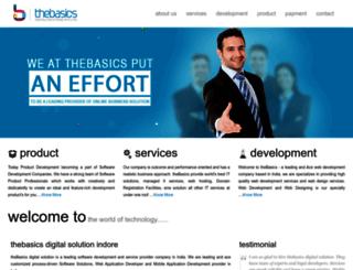 thebasics.co.in screenshot