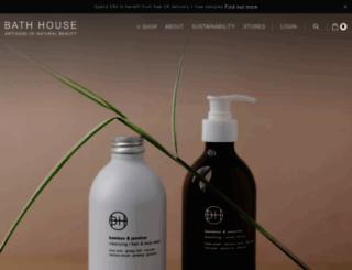 thebathhouseshop.com screenshot