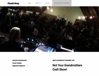 thebazaarofthebizarre.org screenshot