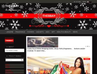 thebbay.co.uk screenshot
