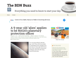 thebdnbuzz.bangordailynews.com screenshot