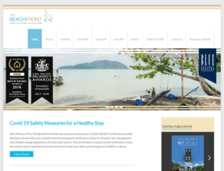 thebeachfrontphuket.com screenshot