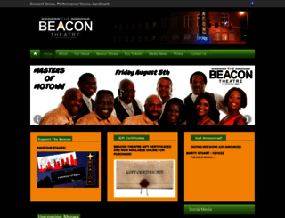 thebeacontheatreva.com screenshot