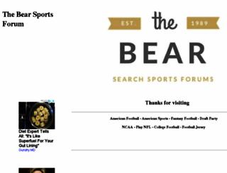 thebear.com.au screenshot