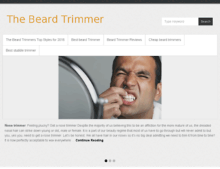 thebeardtrimmer.co.uk screenshot