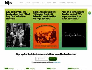 thebeatles.com.br screenshot