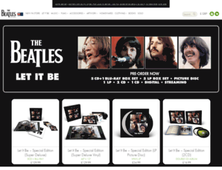 thebeatlesonline.co.uk screenshot