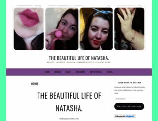 thebeautifullifeofnatasha.wordpress.com screenshot