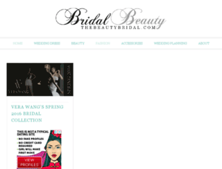 thebeautybridal.com screenshot