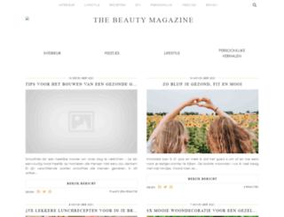 thebeautymagazine.nl screenshot