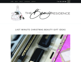 thebeautyresidence.blogspot.com screenshot