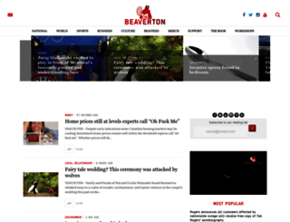 thebeaverton.com screenshot
