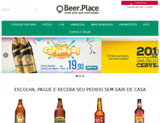 thebeerplace.com.br screenshot