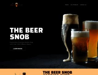 thebeersnob.com screenshot