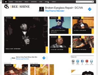 thebeeshine.com screenshot
