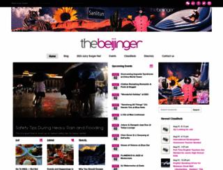 thebeijinger.com screenshot