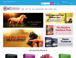 thebellsisters.com screenshot