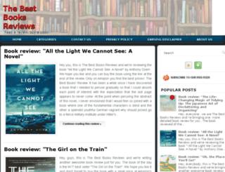 thebestbooksreviews.com screenshot
