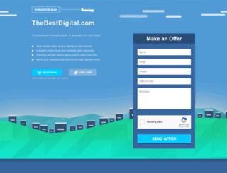 thebestdigital.com screenshot