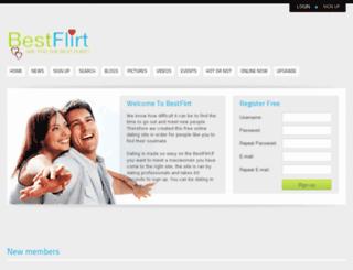 thebestflirt.com screenshot