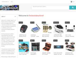 thebestideasforall.ecrater.com screenshot