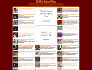 thebestinternetgame.com screenshot