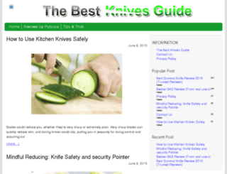 thebestknivesguide.com screenshot