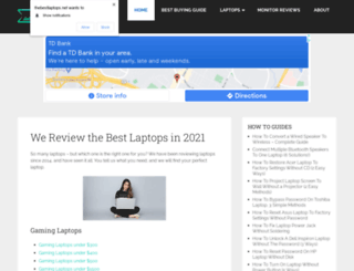 thebestlaptops.net screenshot