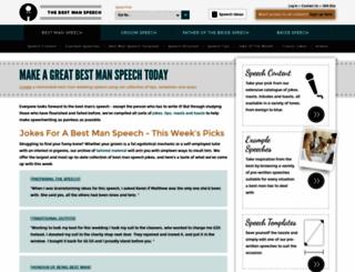 thebestmanspeech.com screenshot