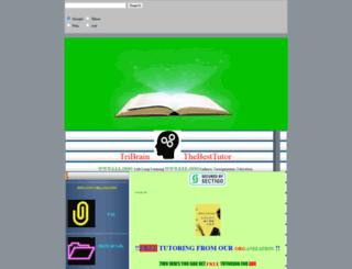 thebesttutor.com screenshot
