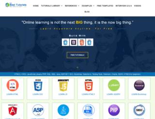 thebesttutorials.com screenshot