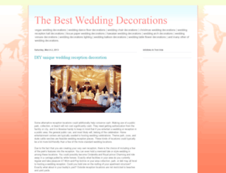 thebestweddingdecorations.blogspot.com screenshot