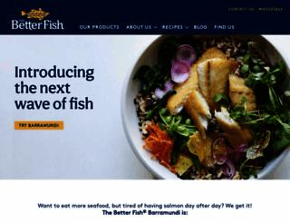 thebetterfish.com screenshot