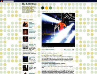 thebettershot.blogspot.com screenshot