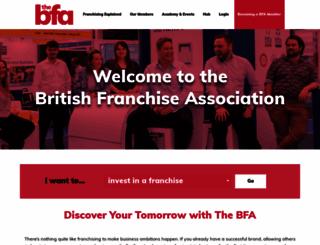 thebfa.org screenshot