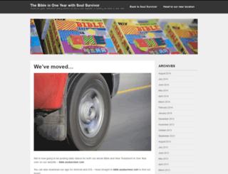 thebibleinoneyear.wordpress.com screenshot