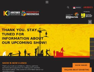 thebig5constructindonesia.com screenshot