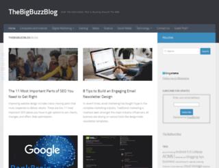 thebigbuzzblog.com screenshot