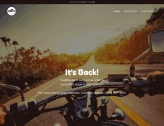 thebikerspot.com screenshot