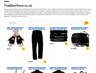 thebikerstore.co.uk screenshot