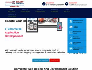 thebinarycomputer.com screenshot