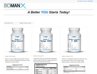 thebiomanx.com screenshot
