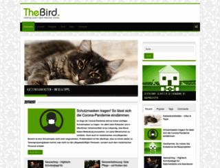 thebird.org screenshot